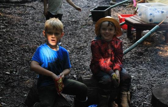 Kids Adventures Lads On Stools 2