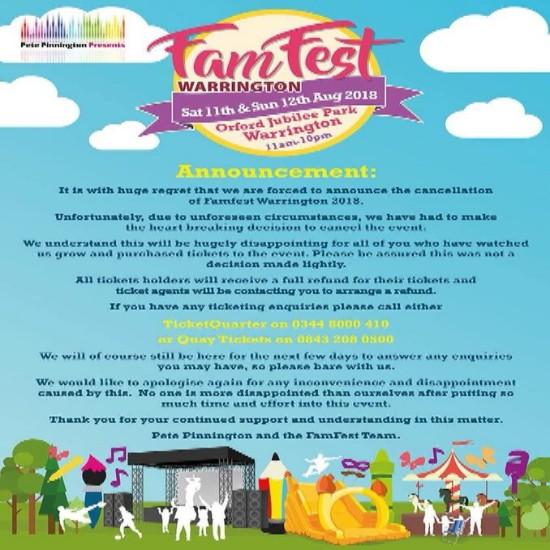 Famfest Announcement